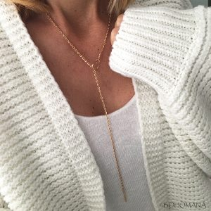 Collier fin Cercle or