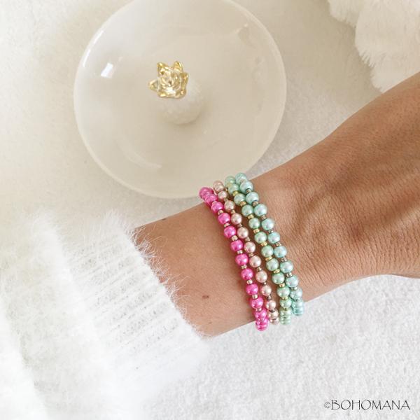 Bracelet création perles