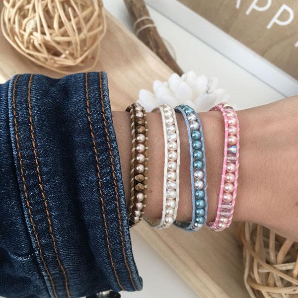 Bracelet wrap création